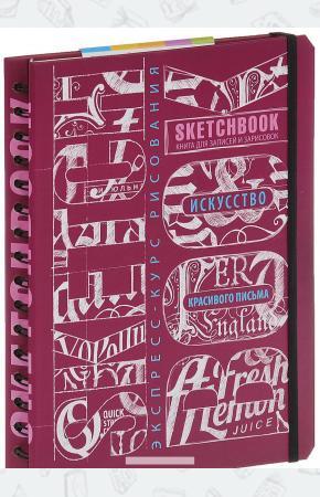 Васильев Sketchbook. Искусство красивого письма (темно-красный)